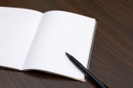 いいことノートにメモ
