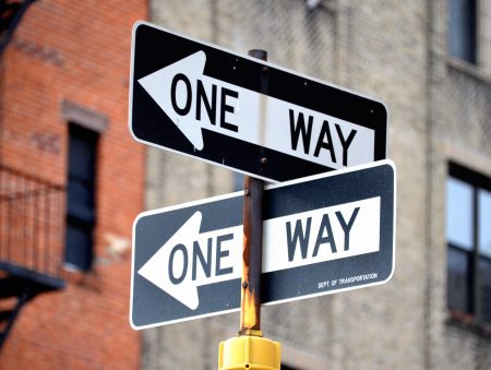 どっちに進む?